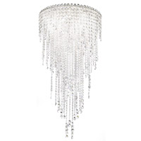 Chantant 5 Light 21 inch Stainless Steel Flush Mount Ceiling Light in Clear Spectra, Strand