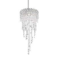 Chantant 3 Light 11 inch Stainless Steel Pendant Ceiling Light in Clear Heritage, Strand