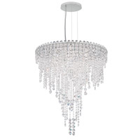 Chantant 6 Light 24 inch Stainless Steel Pendant Ceiling Light in Clear Heritage, Strand