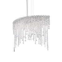 Chantant 6 Light 15 inch Stainless Steel Pendant Ceiling Light in Clear Heritage, Strand