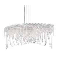 Schonbek CH4811N-401H Chantant 8 Light 22 inch Stainless Steel Pendant Ceiling Light in Clear Heritage, Strand