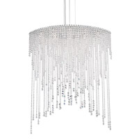 Schonbek CH4813N-401H Chantant 8 Light 22 inch Stainless Steel Pendant Ceiling Light in Heritage Strand