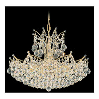 Schonbek Contessa 18 Light Chandelier in Gold and Crystal Swarovski Elements Trim 4822-20S photo thumbnail