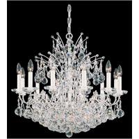 Schonbek Contessa 24 Light Chandelier in Silver and Crystal Swarovski Elements Trim 4823-40S photo thumbnail
