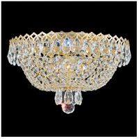 Schonbek 2616-211 Camelot 3 Light 11 inch Polished Gold Flush Mount Ceiling Light in Aurelia photo thumbnail
