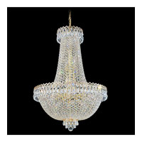 Schonbek Camelot 16 Light Chandelier in Special Gold and Clear Gemcut Trim 2624-20