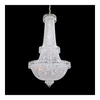Schonbek Camelot 41 Light Chandelier in Polished Silver and Clear Gemcut Trim 2638-40