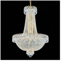 Schonbek 2622-40 Camelot 12 Light 20 inch Silver Chandelier Ceiling Light in Polished Silver