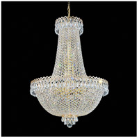 Schonbek 2624-211 Camelot 16 Light Polished Gold Chandelier Ceiling Light in Aurelia