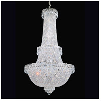 Camelot 41 Light 28 inch Silver Chandelier Ceiling Light in Polished Silver