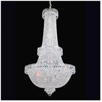 Schonbek 2638-40 Camelot 41 Light 28 inch Silver Chandelier Ceiling Light in Polished Silver