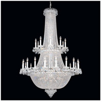 Schonbek 2643-40 Camelot 84 Light 42 inch Silver Chandelier Ceiling Light in Polished Silver