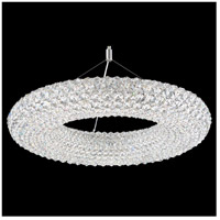 Schonbek CA2525A Cassini 15 Light 25 inch Stainless Steel Pendant Ceiling Light in Clear Spectra, Geometrix,Canopy Sold Separately