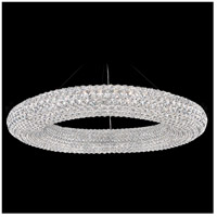 Cassini 28 Light 39 inch Stainless Steel Pendant Ceiling Light in Clear Spectra, Geometrix,Canopy Sold Separately