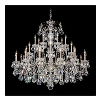 Schonbek Century 28 Light Pendant in Black Pearl and Handcut Crystal 1718-49