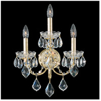 Schonbek 1703-211 Century 3 Light 6 inch Aurelia Wall Sconce Wall Light