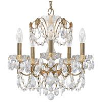 Schonbek 1704-211 Century 5 Light 17 inch Aurelia Chandelier Ceiling Light