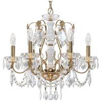 Schonbek 1705-211 Century 6 Light 21 inch Aurelia Chandelier Ceiling Light