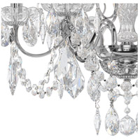 Schonbek 1705-40 Century 6 Light 21 inch Silver Chandelier Ceiling Light in Polished Silver alternative photo thumbnail