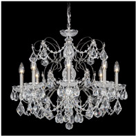 Schonbek 1707-49 Century 8 Light 24 inch Black Pearl Chandelier Ceiling Light