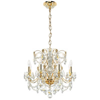 Schonbek 1707-22 Century 8 Light 24 inch Heirloom Gold Chandelier Ceiling Light alternative photo thumbnail