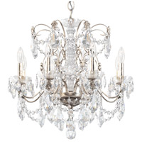 Schonbek 1707-48 Century 8 Light 24 inch Antique Silver Chandelier Ceiling Light