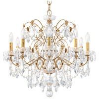 Schonbek 1709-26 Century 9 Light 26 inch French Gold Chandelier Ceiling Light