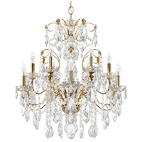 Schonbek 1712-22 Century 12 Light 30 inch Heirloom Gold Chandelier Ceiling Light