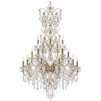 Schonbek 1716-22 Century 20 Light 37 inch Heirloom Gold Chandelier Ceiling Light