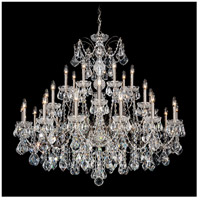 Schonbek 1718-49 Century 28 Light 43 inch Black Pearl Chandelier Ceiling Light