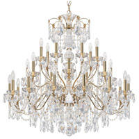 Schonbek 1718-22 Century 28 Light 43 inch Heirloom Gold Chandelier Ceiling Light