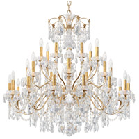 Schonbek 1718-26 Century 28 Light 43 inch French Gold Chandelier Ceiling Light
