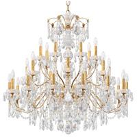 Schonbek 1718-26 Century 28 Light 43 inch French Gold Chandelier Ceiling Light