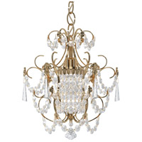 Schonbek 1829-22 Century 1 Light Heirloom Gold Chandelier Ceiling Light