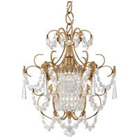 Schonbek 1829-26 Century 1 Light French Gold Chandelier Ceiling Light