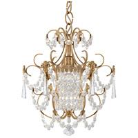 Schonbek 1829-26 Century 1 Light French Gold Chandelier Ceiling Light