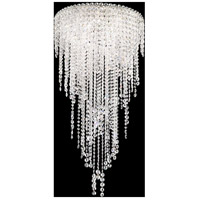 Schonbek CH1812N-401A Chantant 5 Light 21 inch Stainless Steel Pendant Ceiling Light in Clear Spectra, Strand