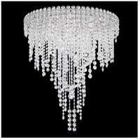 Chantant 6 Light 24 inch Stainless Steel Flush Mount Ceiling Light in Clear Heritage, Strand