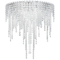 Schonbek CH2402N-401A Chantant 6 Light 24 inch Stainless Steel Flush Mount Ceiling Light in Clear Spectra, Strand