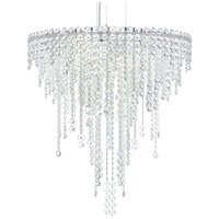Schonbek CH2412N-401A Chantant 6 Light 24 inch Stainless Steel Pendant Ceiling Light in Clear Spectra, Strand