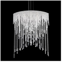 Schonbek CH4813N-401H Chantant 8 Light 22 inch Stainless Steel Pendant Ceiling Light in Clear Heritage, Strand