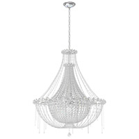 Schonbek CM8334N-401A Chrysalita 8 Light 34 inch Stainless Steel Chandelier Ceiling Light in Clear Spectra alternative photo thumbnail