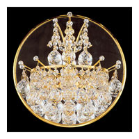 Schonbek Contessa 3 Light Wall Sconce in Gold and Crystal Swarovski Elements Trim 4820-20S