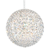 Da Vinci 12 Light 12 inch Stainless Steel Pendant Ceiling Light in Clear Spectra, Geometrix,Canopy Sold Separately
