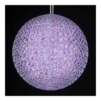 Schonbek Da Vinci 16 Light Pendant in Stainless Steel and Crystal Swarovski Elements Trim DV1515S