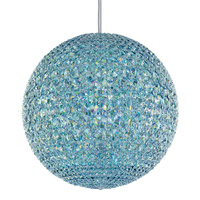 Da Vinci 18 Light 18 inch Stainless Steel Pendant Ceiling Light in Clear Spectra Crystal