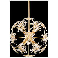 Schonbek DN1018N-401A Esteracae 6 Light Polished Stainless Steel Pendant Ceiling Light in Clear Spectra