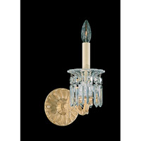 Schonbek Dorchester 1 Light Wall Sconce in Heirloom Gold and Clear Heritage Handcut Trim 5017-22