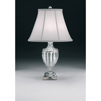 Schonbek Dynasty 1 Light Table Lamp in Antique Silver 20100N-48