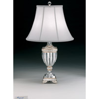 Schonbek Dynasty 1 Light Table Lamp in Antique Silver 20111N-48